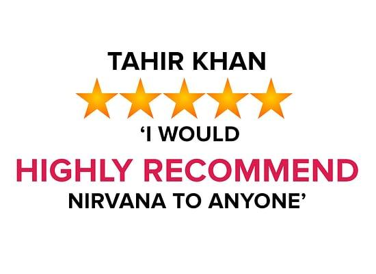 Tahir Kahn Testimonial