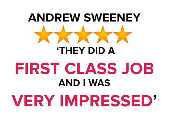 Andrew Sweeney Testimonial