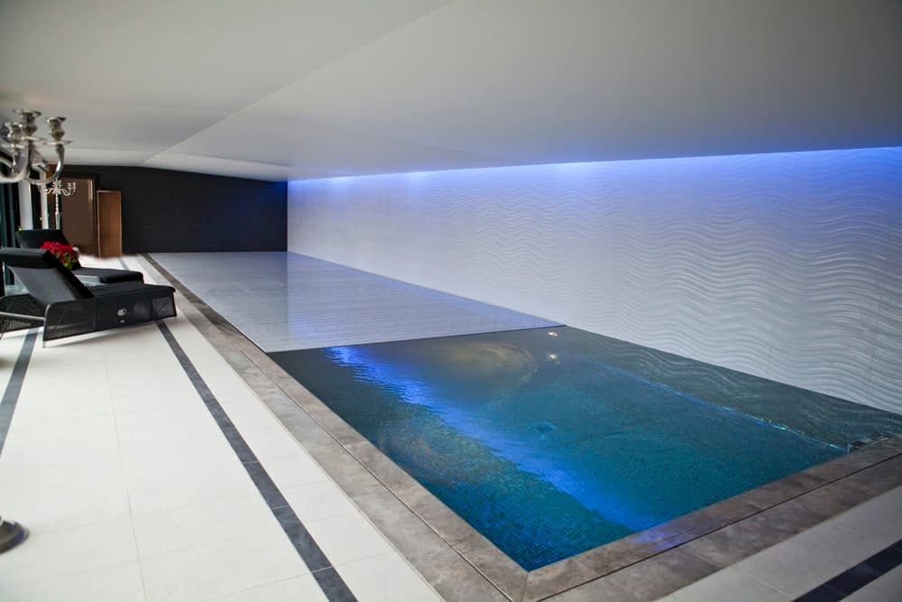 smart home swimming pool
