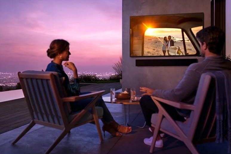 Samsung Terrace TV Balcony
