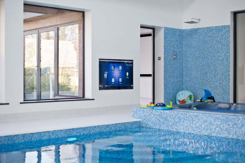 swimming pool smart home installation