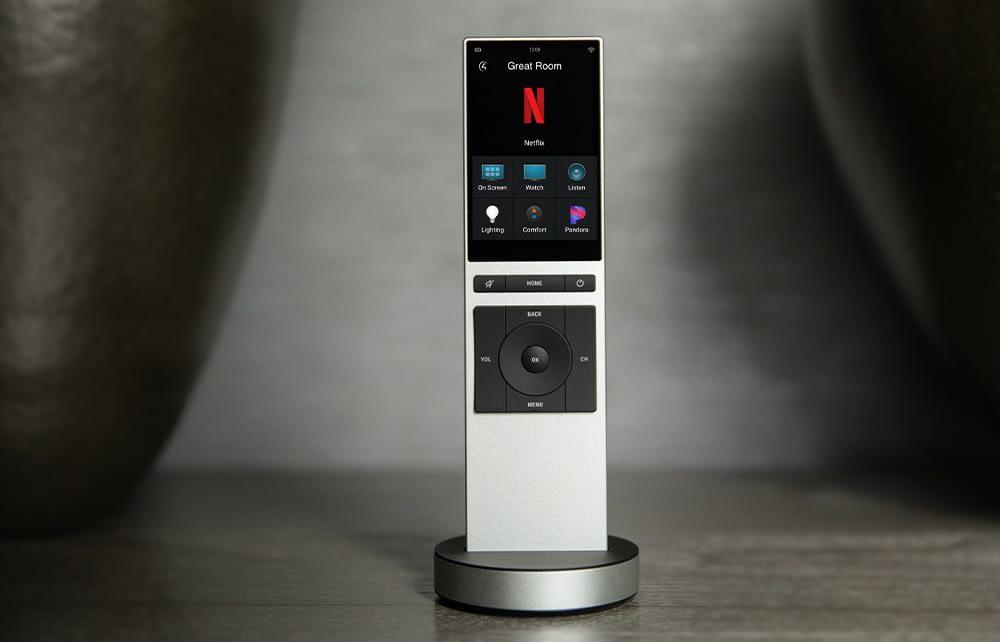 Neeo Remote displaying Netflix